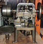Nickerson Type Double Cable Chain Making Machine - Tooled .009 Double Cable