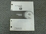 John Deere 60 70 70a Wheel Loader Owner Operator Maintenance Manual Om-m79638