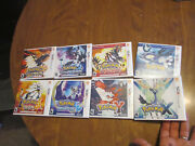 Lot Nintendo 3ds Pokemon Ultra Moon And Sun + X And Y + Alpha Sapphire And Omega Ruby