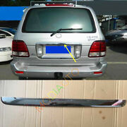 For Lexus Lx470 2003-2007 Abs Rear Trunk Lid Cover License Tail Door Trim Frame