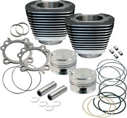 S And S Cycle Big Bore Kit 95in. 99-06 Twin Cam Black Powder-coated - 910-0204