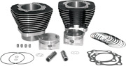S And S Cycle Big Bore Kit 97in. 99-06 Twin Cam Black Powder-coated - 910-0205