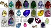 Genuine Crystals Fancy Stones 4320 Pear Jewelry Making Wholesale Pack