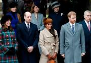 British Royal Family Glossy Poster Picture Photo Banner Will Harry Meghan 4473