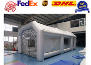 Inflatable Spray Booth Paint Booth Custom Car Tent 26x13x10ft Free Expedited Shi