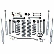 Rubicon Express Super-flex Standard Front And Rear Suspension For 04-06 Wrangler