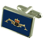 Submarine Service Badge Sterling Silver 925 Cufflinks Boxed