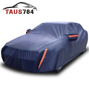 Car Cover Waterproof Rainproof Snowproof All Weather Protection-cars Up To 210