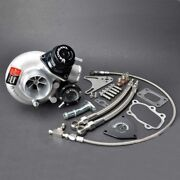 Kinugawa Billet Turbo 2.4 Td05h-20g And Blow Off Valve And 8cm T25 Flange And 9blades