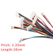 1.25mm 2/3/4/5/6/7/8/9/10p Double Head Connector Wire 10cm Cable Forward/reverse