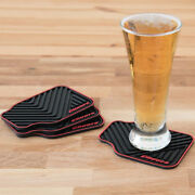 Car Mat Coasters 4 Pcs Set Auto Car Drink Beer Cola Water Coffee Serving
