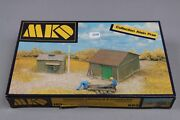 Z258 Mkd 669 Maquette Train Ho 187 Cabane + Appentis Diorama Shed And Lean Kit