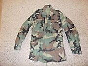 Military Bdu Small Long Field Jacket Camouflage Us Army Usaf Us Navy Men 70