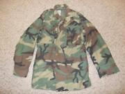 Military Bdu Small Long Field Jacket Camouflage Us Army Usaf Us Navy Men 72