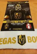 Vegas Golden Knights Detroit Red Wings Inaugural Game 10/13/17 Fleury Poster