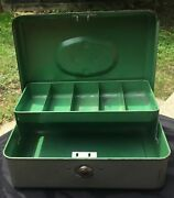 Utilco Cash Box Union Steel Chest Corp. Le Roy New York Made In The Usa