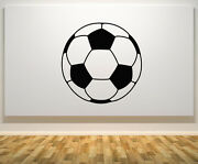 Football Ball Game Play Team Childrenand039s Bedroom Art Decal Sticker Picture Poster