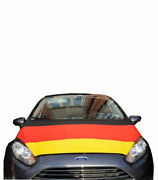 Germany Car Hood Cover Flag 2020 Euro Cup 40' X 50' Inches