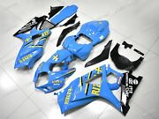 For Gsxr1000 2007 2008 Abs Injection Mold Bodywork Fairing Kit Blue Yellow Rizla