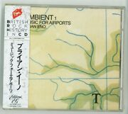 Brian Eno Ambient 1 Music For Airports Cd Japan 1st Press New Vjd-28038 S6036