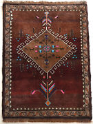 - Fountain Of Love - Theme Hand Knotted Turkish Rug 45 X 57 - Ultra Rare Piece