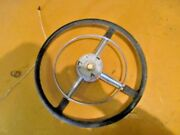 1951 Buick Streering Wheel And Horn Ring No Button - Banjo / Rat Rod