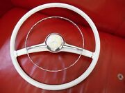 Mercedes 190sl Ivory Steering Wheel