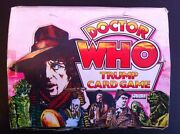 Dr Who Trump Card Game Oringinal Empty Display Box Case 1970s Tom Bakerxrare