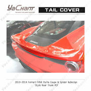 Carbon Bootlid For 10-14 Ferrari F458 Italia Coupe And Spider Xudesign Rear Trunk