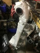 John Deere/lugger 6076 Exhaust Manifold Assembly With Turbocharger