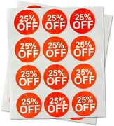 Garage Yard Sale Price Stickers Labels [25 Percent Off] For Retail Store Deals