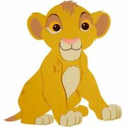 Simba Shaped Wall Hanging By Disney Baby Discontinued