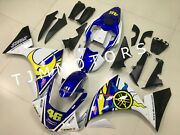 For Yzf R1 2009-2011 Abs Injection Mold Bodywork Fairing Kit White Blue Yellow