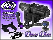 3500lb Kfi Stealth Winch Mount Combo - Ranger 2013-18 Xp900 Xp 900 570 1000