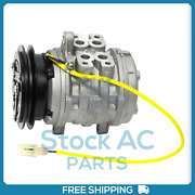 New A/c Compressor For Chevrolet Sprint 1.0l - 1985 To 1988 - Oe 9520083080