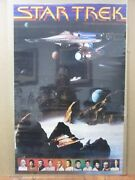 Vintage Poster Sci-fi Star Trek The Motion Picture 1979 Inv1850