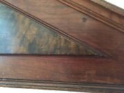 One Of A Kind Full Size Antique Headboard wood
