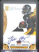 2013 Panini Crown Royale Silhouette Rookie Patch Autogrpah 221 Leand039veon Bell