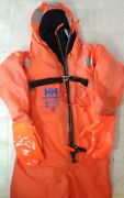 Helly Hansen E-307 Immersion Suit Norwegian Approval Excellent Unused 02