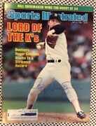 May 12 1986 Roger Clemens Baseball Boston Red Sox Sports Illustrated Signed