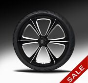 21 Harley Wheel Sniper Eclipse Wheel Package By Rc Components