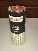 Vintage Mallory No. 6 Ignition Battery M-905 Lot Of 4