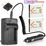 Kastar Battery Travel Charger For Sony Np-bn1 Bc-csn And Sony Cyber-shot Dsc-wx9