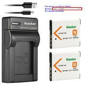 Kastar Battery Slim Charger For Sony Np-bn1 Bc-csn And Sony Cyber-shot Dsc-wx9