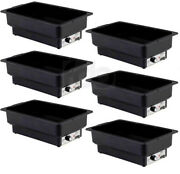6 Pack Electric Fuel Chafer Chafing Dish Steam Full Food Water Pan Table Warmer