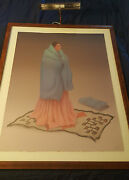 Rc Gorman - First Choice - Original Lithograph - Hand Signed And Dated 1989