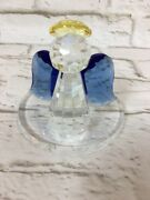 Partylite Sparkle Lite Crystal Angel - Retired - Holiday
