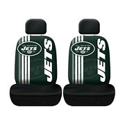 New Football New York Jets Low Back Seat Covers Universal For Cars Suvs - 4 Pc