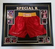 New Kell Brook Signed Boxing Glove Display