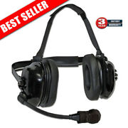 Titan Flexboom Headset Replacement For Klein K-cord And Qd Radio Adapters